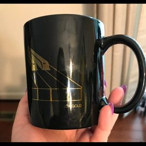 Albert Elovitz 1987 Piano Coffee Mug 22K Gold